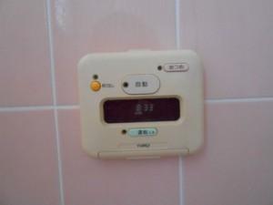 7-古い風呂のリモコン