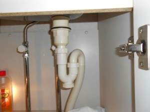 洗面器下 排水トラップ