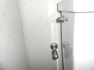 ロータンク給水管の除去