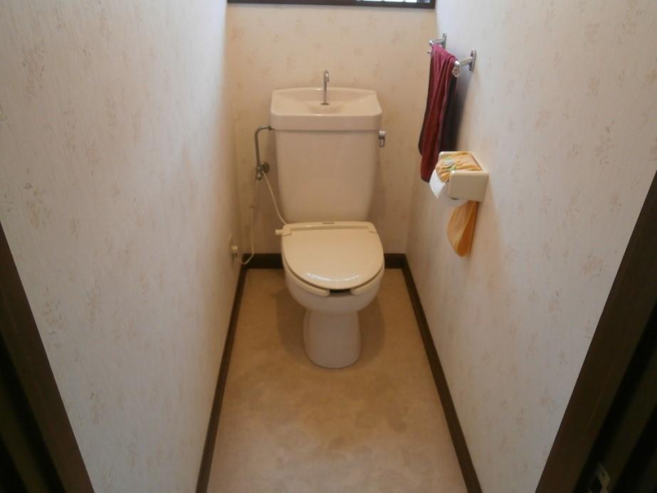 トイレ修理前