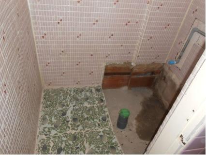 トイレ撤去後1